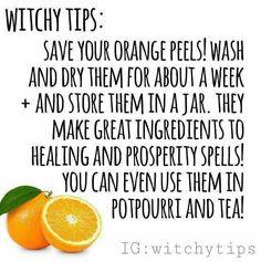 Orange peels.                                                                                                                                                                                 More