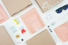 Le Parcel 2015 Packaging System — The Dieline - Package Design Resource