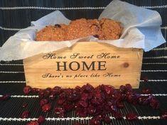 Cookies με πίτουρο βρώμης και cranberries