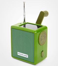 Solar Crank Radio -- for that eco-minded geeky music lover in your life!