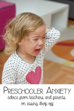 Preschooler Anxiety via @rainydaymum