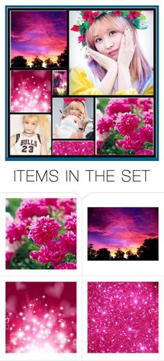 """Momo Aesthetic"" by kpopkrypto ❤ liked on Polyvore featuring art, kpop, twice, momo and twicemomo"