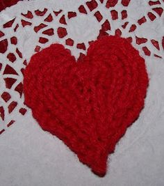 Loom Lore: Here's my heart...Done on a loom.