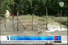 Puerto Plata: Lluvias continúan Causando Daños