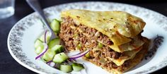 #Lamb #Quesadillas: Lamb mince and beans mixed with #cheese stuffed in flour #Tortilla.
