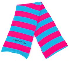 Five-Forty Scarf Blue/Vivid Pink