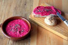 Nahual: Paté crudivegano de remolacha
