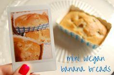 Pretty in Mad: Mini Vegan Banana Breads