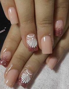 Manicure Nail Designs, Fall Nail Designs, Manicure And Pedicure, Popular Nail Colors, Nail Art Videos, Nail Decorations, Stylish Nails, Gorgeous Nails, Toe Nails