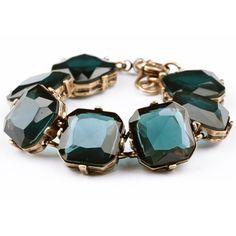 Gemmed Bracelet in Deep Sea Blue