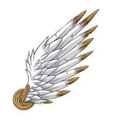 Hermes's wings.