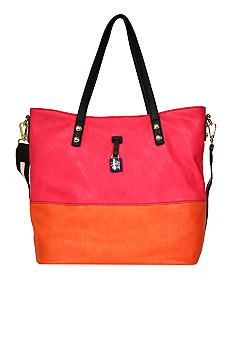 color block - summer tote by Jessica Simpson