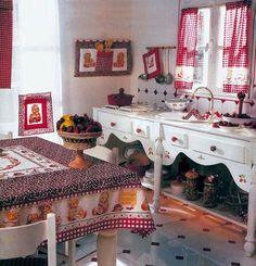Cucito country: idee per la cucina