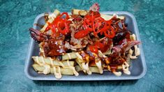 BBQ Brisket Poutine from Hotbox London
