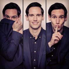 Cory Michael Smit has Edward Nygma, the man who will be Riddler.