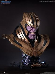 Marvel Avengers, Thanos Marvel, Marvel Villains, Marvel Dc Comics, Marvel Characters, Batman Begins, Marvel Statues, Life Size Statues, 3d Printable Models