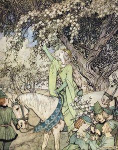 Arthur Rackham - The Romance of King Arthur (1917) (14 of 20)