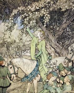 Arthur Rackham - The Romance of King Arthur (1917) (14 of 20)