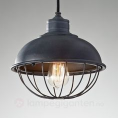 Buy Feiss Lighting Retro Style Mini-Pendant Light with Bulb Cage Shade at Builders Lighting. Retro Style Mini-Pendant Light with Bulb Cage Shade Farmhouse Lighting, Industrial Pendant Lights, Cage Pendant, Iron Pendant, Pendant Light, Bowl Pendant, Light, Metal Shades, Industrial Cage Pendants