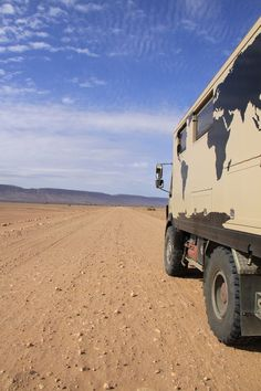 Mercedes Expedition Truck in Africa.
