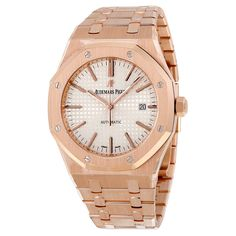 Retail Price $50,500 Case Material 18K Rose Gold Bracelet Material 18K Rose Gold Clasp 18K Rose Gold, Deployment Movement Automatic, Self Winding Crystal Sapphire Dial Silver Dial, Index Measurements