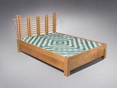Custom Contemporary Bed