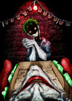 Joker Christmas Gift