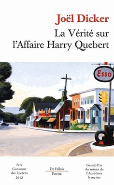 l'affaire harry quebert - Buscar con Google