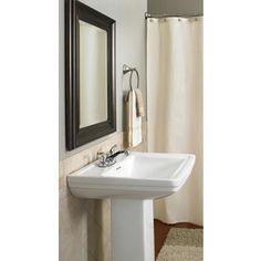 Elliston Pedestal Sink : Pedestal sink-master bath