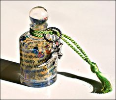 Bottle Necklace  Tiny Kangaroo & Text  by mentalembellisher, $54.00