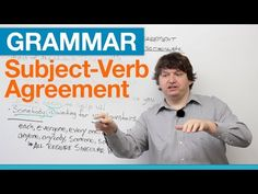 English Grammar is an important tool which we are loosing in our new generation. This grammar video is a great tool to watch if you have trouble with subject verb-agreement.