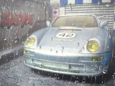 Diorama Cobblestone Street_Porsche 911 (SCX)   Diorama Calle Adquines #slot #slotcar #diorama #scalextric #ninco #carrera #scx  #diorama #street #cobblestone #alotslot #calle #callejon #adoquines #porsche #911 #scx #rain #water