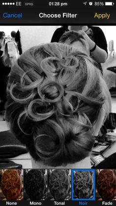 Hair up 4