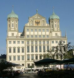 Augsburg. Rathaus. Elias Holl.262   Augsburg.  Rathaus.  Elias Holl. 1624.