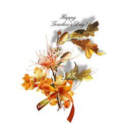 """Happy  Teacher's Day!"" by rasa-j ❤ liked on Polyvore featuring art, artset, Fall2016, autumn2016 and teachersday"