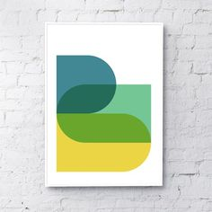 designed and printed in our UK studio. all posters are printed on to premium heavyweight matte paper and are sold unfra All Poster, Simple Shapes, Shape Design, Wall Prints, Illustrations Posters, Gallery Wall, Design Inspiration, Logos, Paper