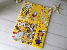TCIL Spongebob Pattern Soft Back Cover Case for Iphone 6/6S Plus (004)
