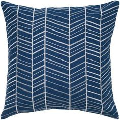 18 Inch X 18 Inch Steel Decorative Pillow With Embroidery Details