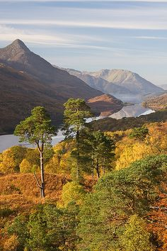 Autumn Colors at Kinlochleven, Scotland
