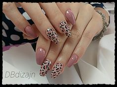 nails how to Matte Pink Nails, Leopard Print Nails, Rose Gold Nails, Cute Acrylic Nails, Fancy Nails, Cute Nails, Pretty Nails, Diy Nails, Pink Nail Designs
