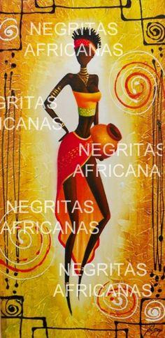 Negritas Africanas  Hermosos Y Exclusivos Cuadro S