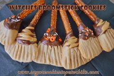 Witches' Broomstick Cookies