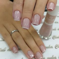 50 Beautiful Nail Art Designs & Ideas Nails have for long been a vital measurement of beauty and Pretty Nail Colors, Pretty Nails, Cute Nails, Short Nail Manicure, Manicure E Pedicure, Cute Acrylic Nails, Acrylic Nail Designs, Nail Polish Pens, May Nails