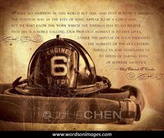 Famous Quotes About Firefighters