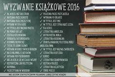 Drobiazgi Maknety - kreatywny blog o dzierganiu i czytaniu Organize Your Life, Book Lovers, Book Worms, Infographic, Projects To Try, Challenges, Bullet Journal, Personalized Items, Quotes