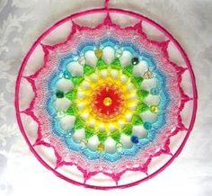 Mandala Uncinetto Rainbow