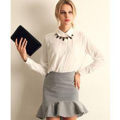 >> Click to Buy << Work Wear 2017 Women Shirt Chiffon Tops Elegant Ladies Formal Office Blouse 5 Colors Blusas Femininas Plus Size XXL #Affiliate