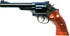 Smith and Wesson Model 19. A .357 Magnum classic.