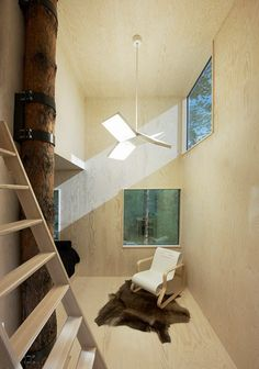 Tree hotel mirrorcube - Tham & Videgård Arkitekter #treehotel #hotel #cube #architecture #interiordesign #mirrorcube