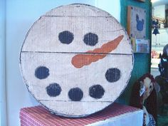 Snowman cheese box @ Country Quackers